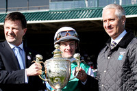 Winning Cause with Julien Leparoux wins the 2013 Coolmore Lexington for trainer Todd Pletcher and owner Alto Racing LLC not present  during the 2013 Keeneland Spring Meet