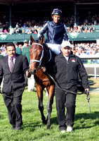 Joha with Rajiv Maragh up wins the 2012 Dixiana Breeder's Futurity for trainer Michael Maker and owner Wade Wacker, 2012 Keeneland Fall Meet