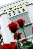 2013 Kentucky Derby Roses,  trophy, scenics