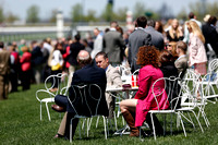 Clubhouse scenics during the 2013 Keeneland Spring Meet